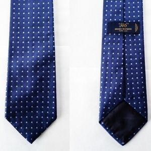 Brooks Brothers 346 Box Square 100% Silk Tie $79